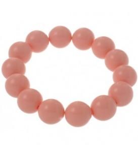 Roze kralen armband