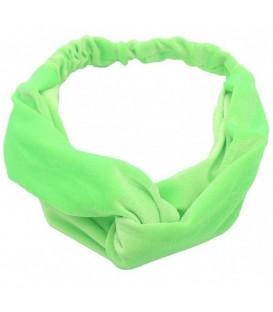 Groene hippe haarband