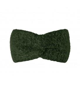 Olijf groene winterhoofdband