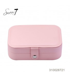 Kleine roze sieraden koffertje